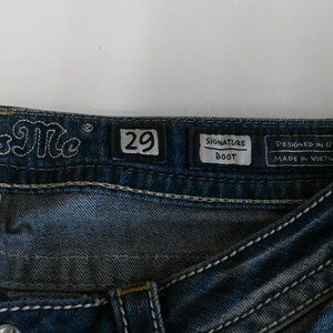 Miss Me Jeans - Miss Me Denim Boot Cut Jeans SZ: 29